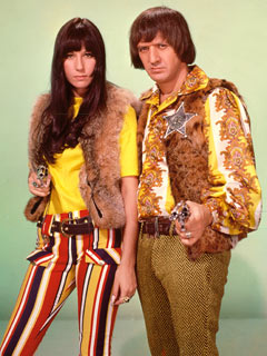 Sonny & Cher during the 1960s
