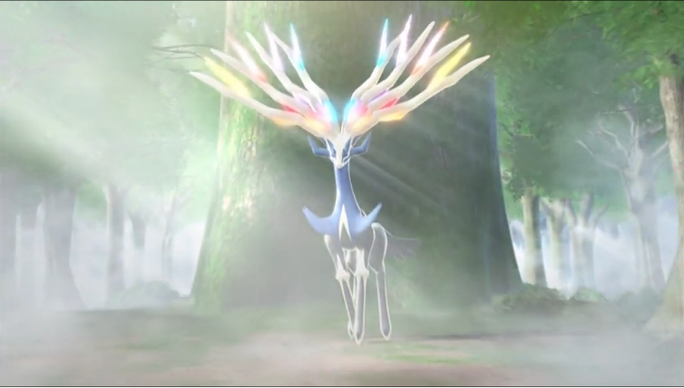 New Pokemon X, Y, And Rainbow Versions Reveal Final Legendary Pokemon
