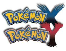 Pokemon X and Y title screens
